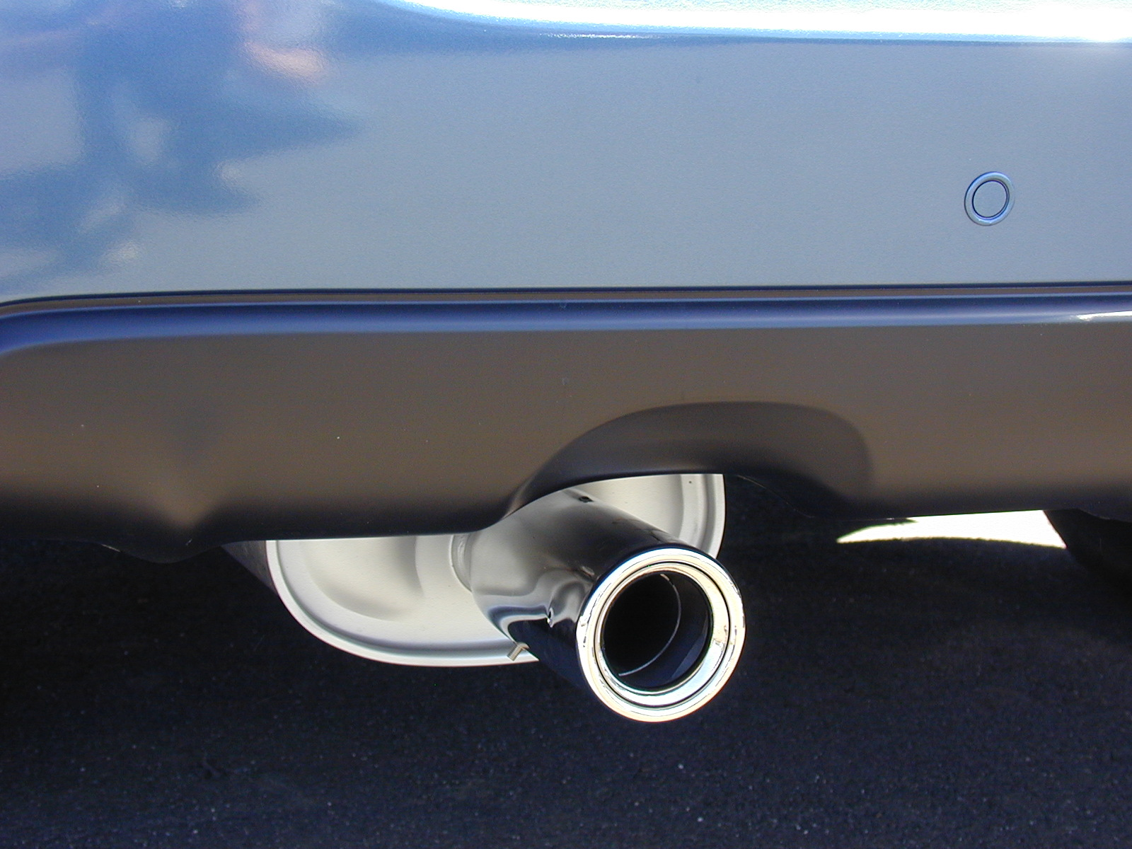 chrome stainless steel sports exhaust tips big bold burgdesign