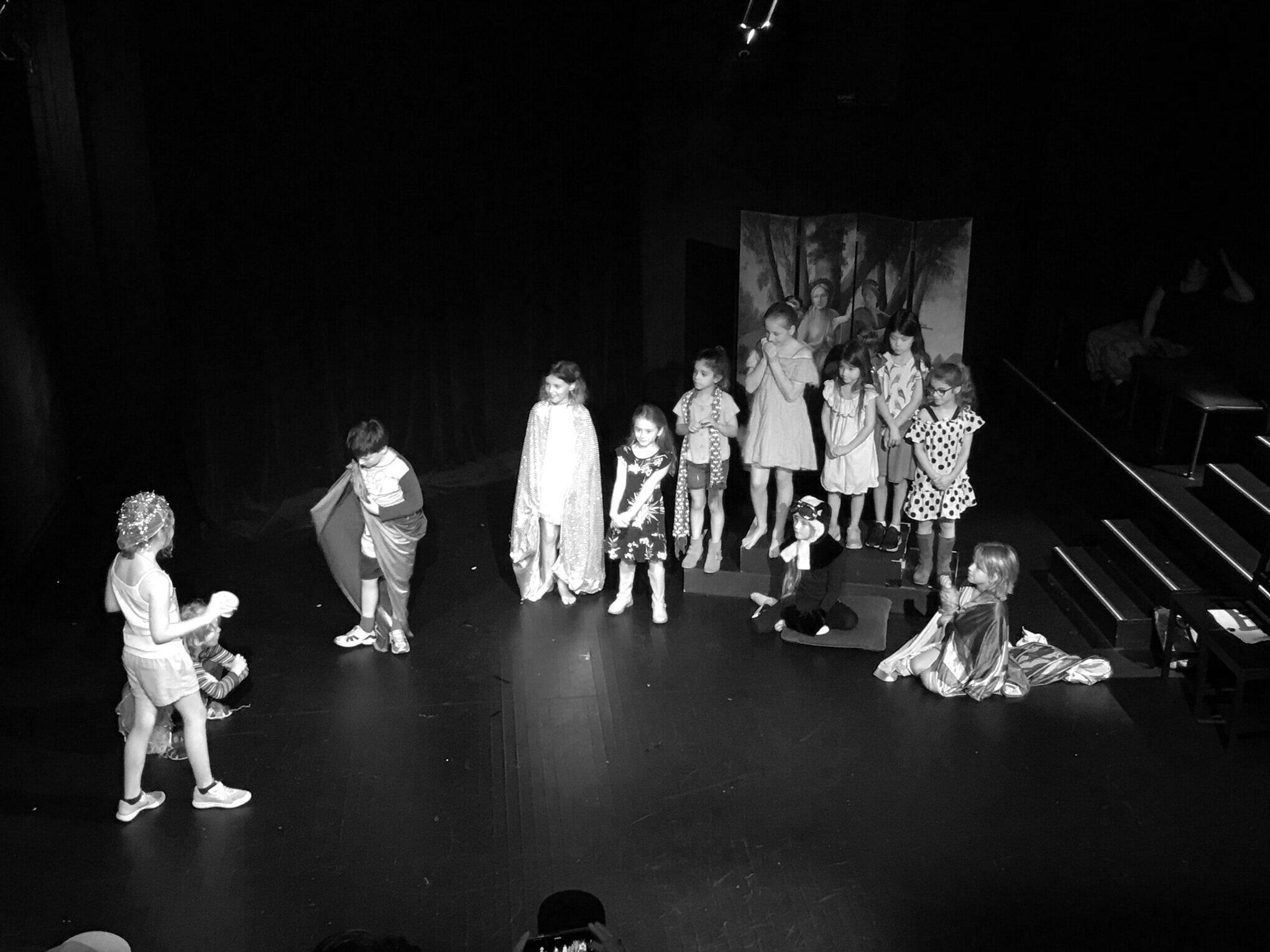 Aka the row of chairs. Saturday Kids Drama Class Inner West Drama