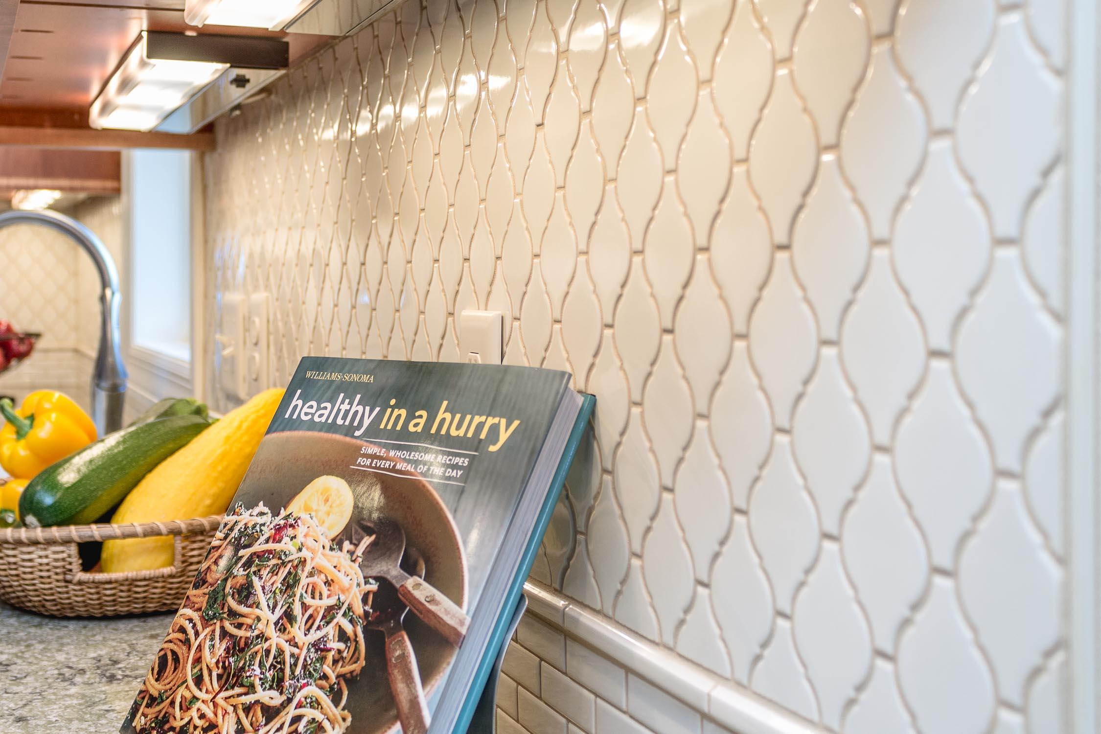 kitchen design subway tile