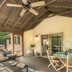 Screened Porch Addition With Grilling Deck Degnan Design Build Remodel