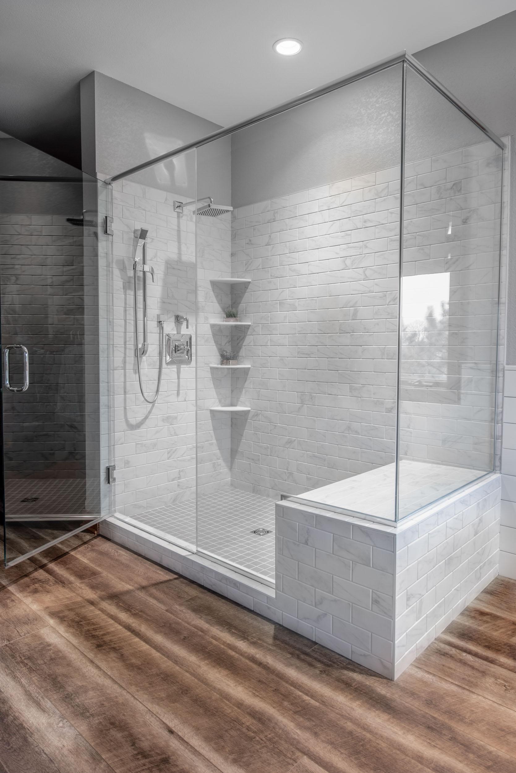 choose shower tile when remodeling