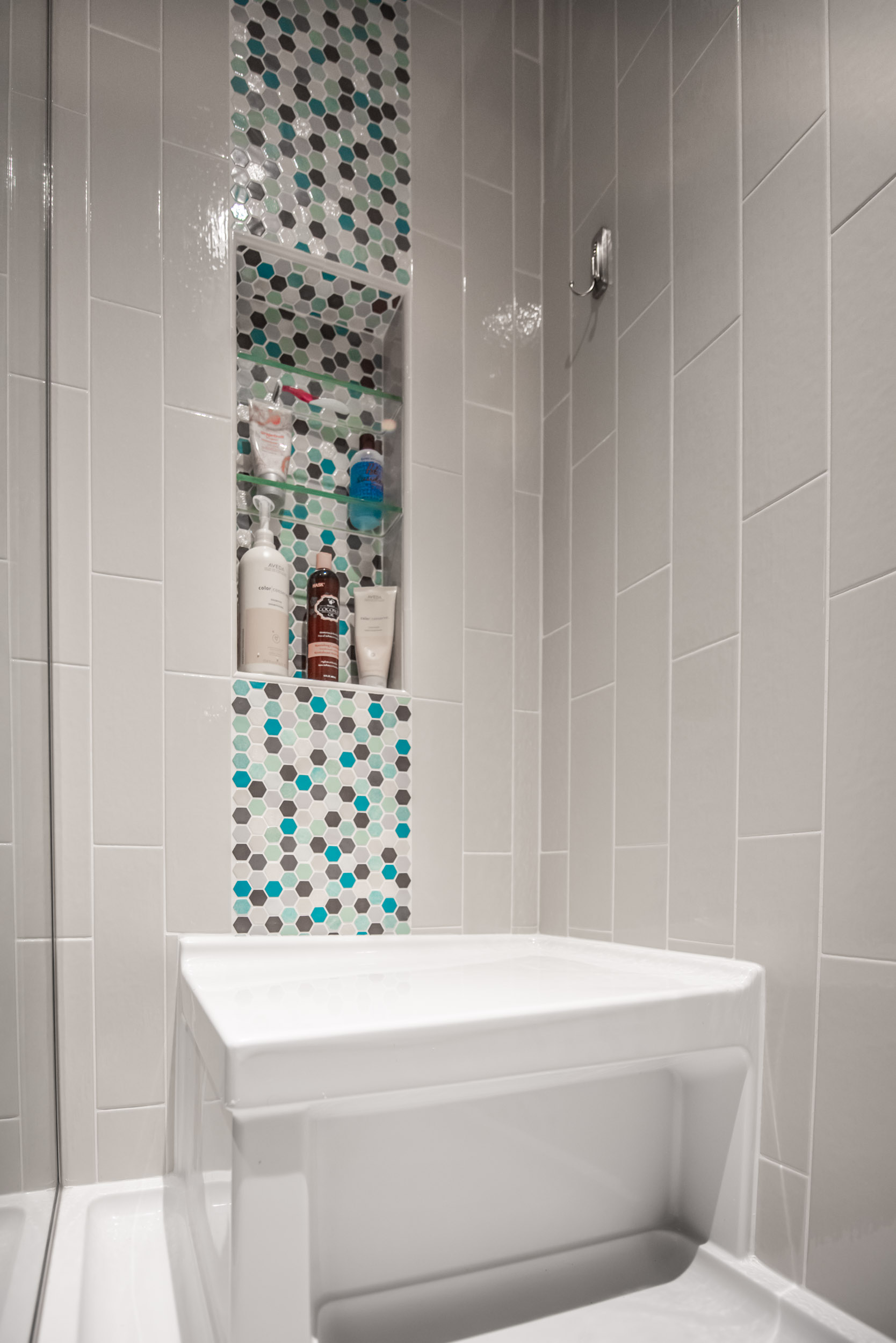 why a recessed shower niche is a must