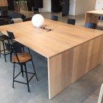 White Oak Conference Tables For Nike Hq Norskog Metal Works