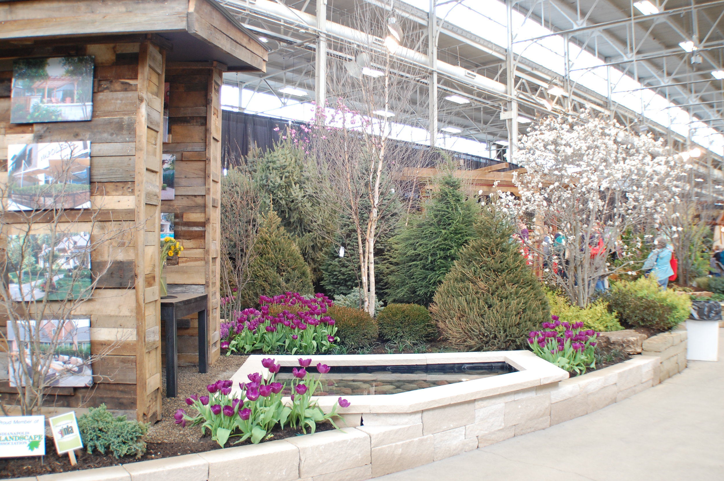 indiana flower patio show through the