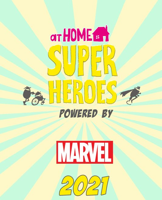 At Home Superheroes powered by Marvel