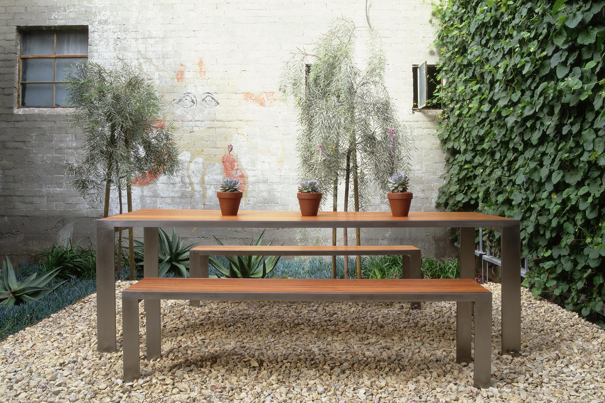 glencoe indoor outdoor dining bench