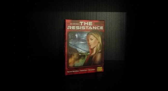 The Resistance a New Year's Eve board game recommendations