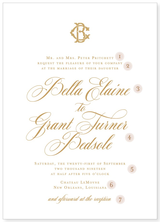 Wedding Invitation Etiquette Fl