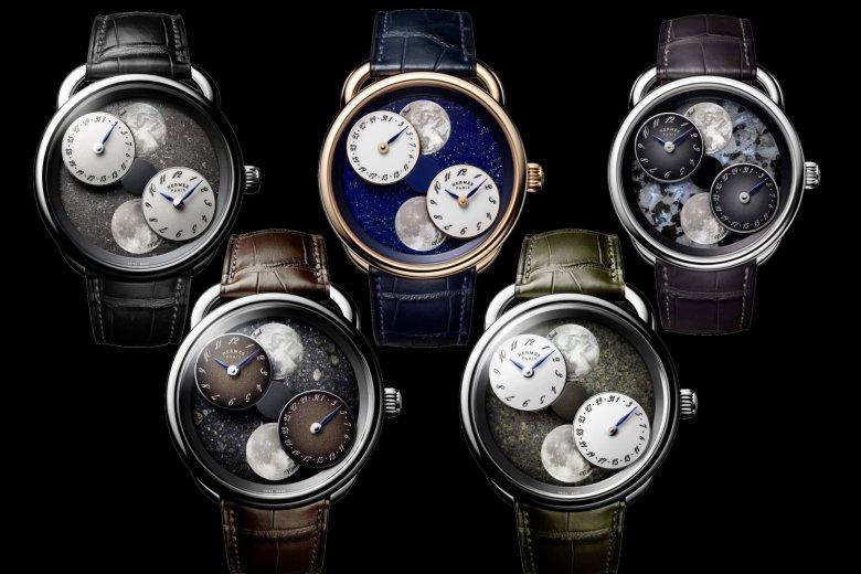 New Dials for Hermès Arceau L'Heure De La Lune release in 2020