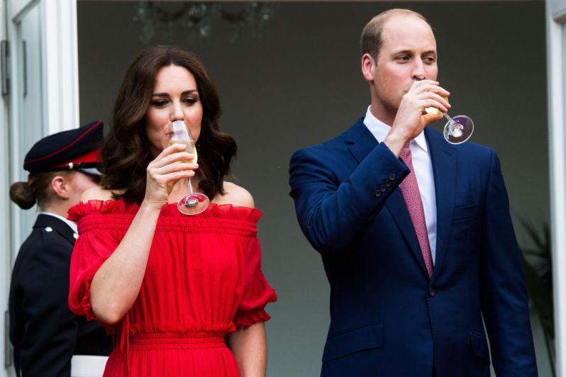 Ahnte Herzogin Kate in Deutschland noch nichts von ihrer Schwangerschaft?   Foto: Getty Images