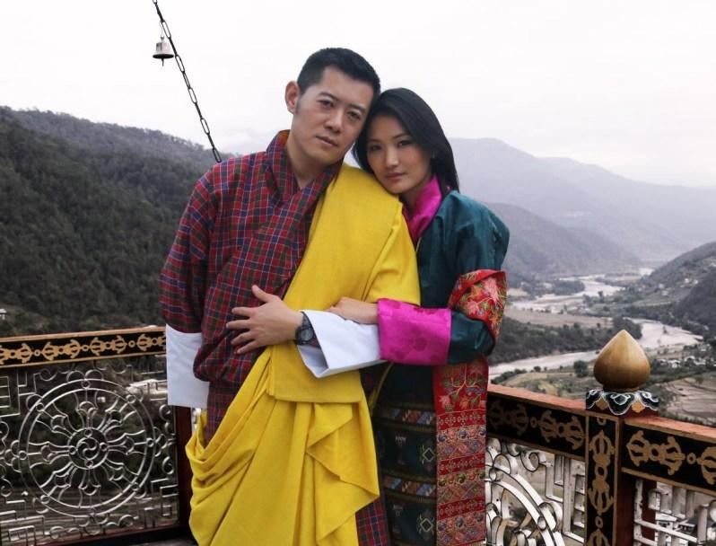 """Wegen ihrer Beliebtheit werden sie auch die """"Kate und William"""" von Bhutan genannt.   Foto: Royal Office of Bhutan"""