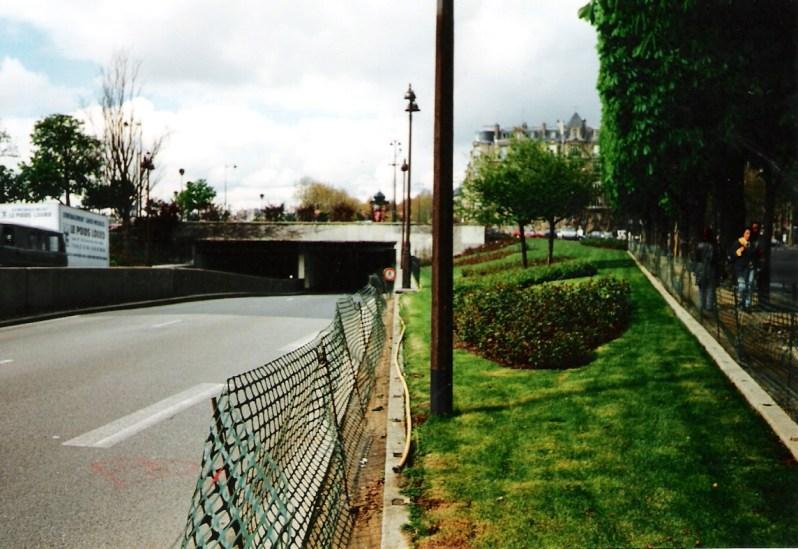 Der Eingang zum Pont de l'Alma Tunnel, wo der Wagen verunglückte . Foto: Erik1980 , CC BY-SA 3.0