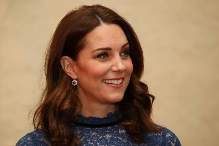 Herzogin Kate trägt meistens einen dezenten Lippenstift.   Foto: imago/PA Images