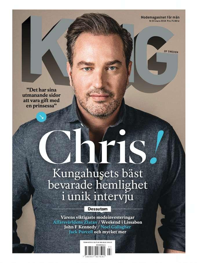 """Auf 12 Seiten erzählt Chris O'Neil in der Zeitschrift """"King"""" über sein Leben.    Foto: PR"""