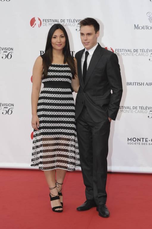 Ein echtes Traumpaar: Marie Hoa Chevallier und Louis Ducruet. Foto: imago/Starface