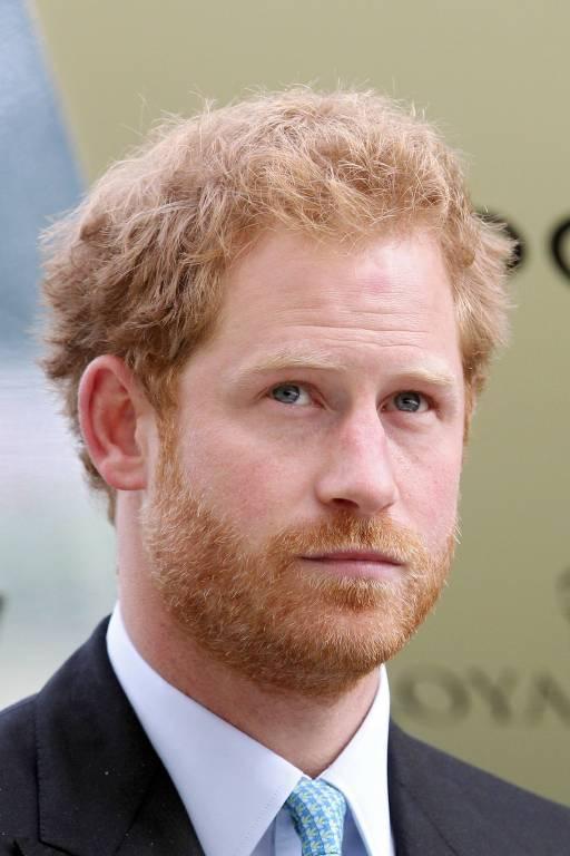 Prinz Harry trauert um seinen Kollegen Nathan Hunt.    Foto: imago/Frank Sorge
