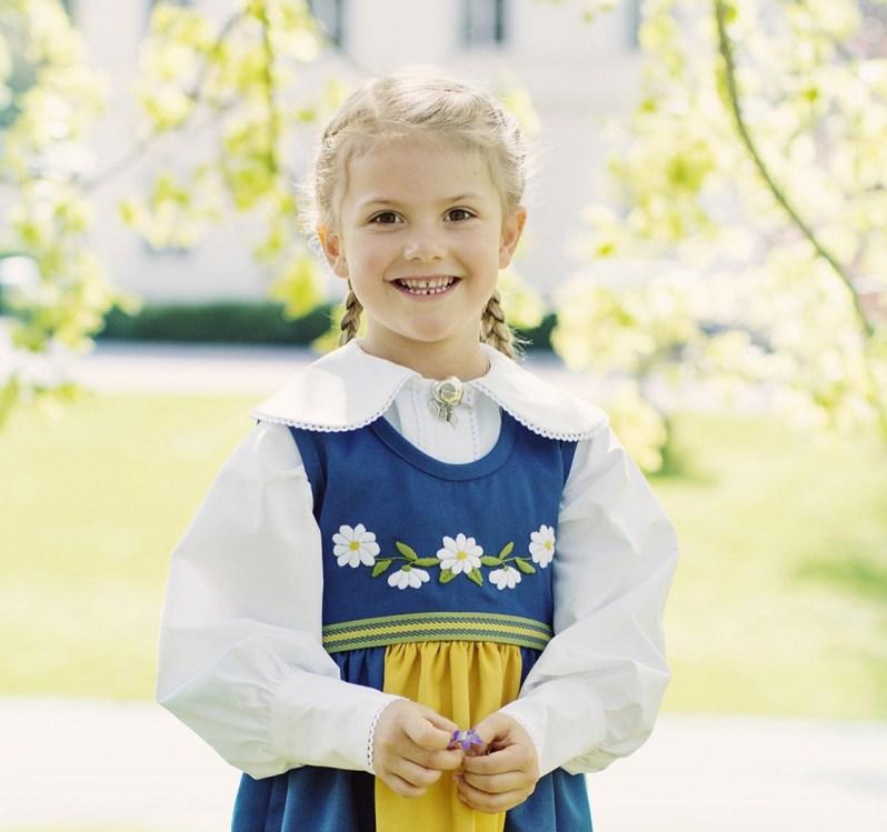 Este oder Stelli? Der geheime Spitzname von Estelle lässt sich nicht ableiten.  Foto: Erika Gerdemark, Kungahuset.se
