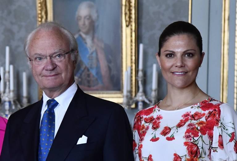 Wer soll das Land regieren? Carl Gustaf oder Victoria?  Foto:imago/E-PRESS PHOTO.com