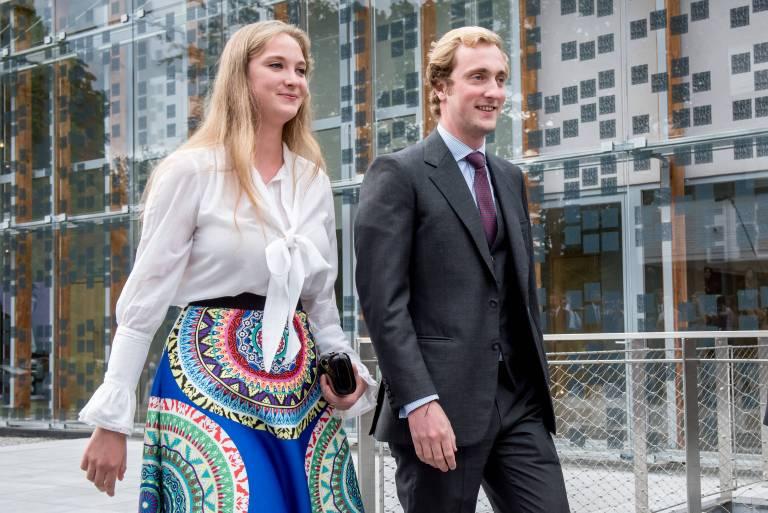 Prinz Joachim mit seiner Freundin. ©imago/Reporters