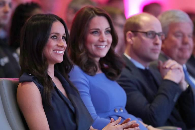 Herzogin Meghan und Herzogin Kate haben sich angefreundet.  ©imago/Starface