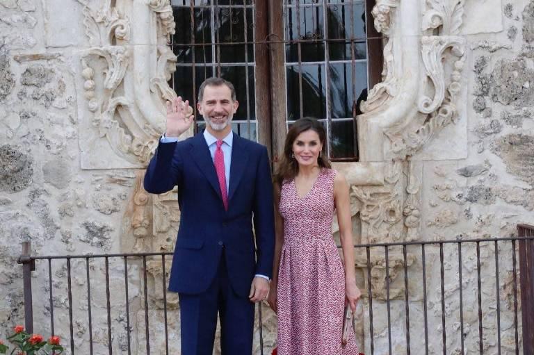 In den USA machen Felipe und Letizia gute Miene zum bösen Spiel.  ©imago/CordonPress