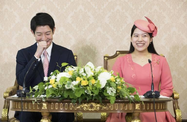 Am 12. Oktober werden Prinzessin Ayako und Kei Moriya heiraten.  ©imago/Kyodo News
