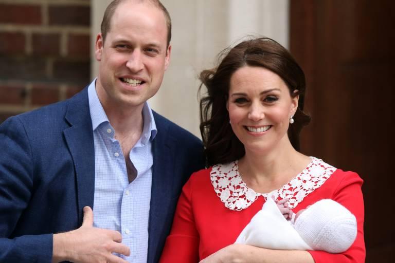Prinz William und Herzogin Kate lassen ihren Sohn Louis taufen. Nun stehen auch die Taufpaten fest.  ©imago/Paul Marriott