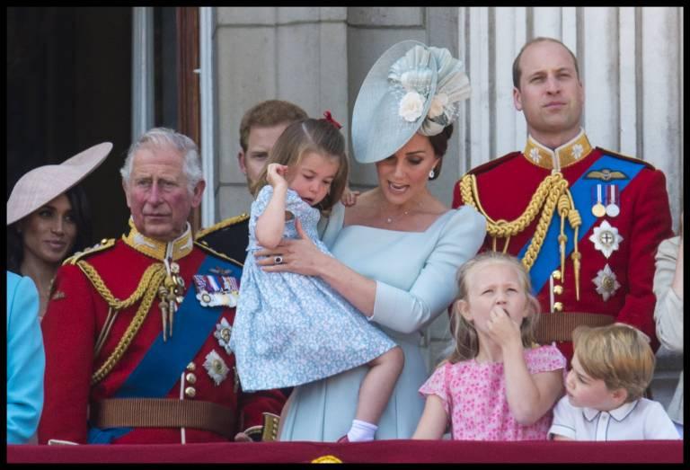 """Bei """"Trooping the Colour"""" trägt Prinzessin Charlotte ein Kleid von """"Pepa & Co"""".  ©imago"""