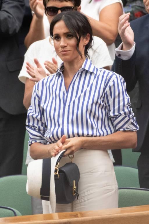Herzogin Meghan werden die Schlagzeilen um ihre künftige Schwägerin sicher entsetzt haben.  © imago