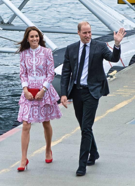 Herzogin Kate und Prinz William sind seit 2011 verheiratet.  ©imago/ZUMA Press