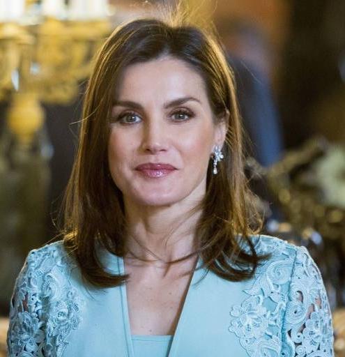 Letizia wurde durch die Thronbesteigung ihres Mannes am 19. Juni 2014 zur Königin von Spanien.  ©imago