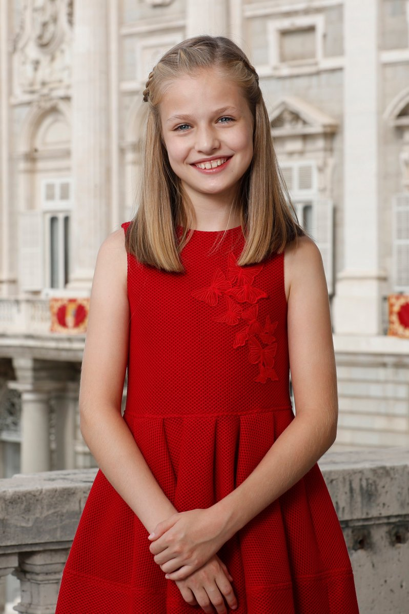 Prinzessin Leonor wird eines Tages auf dem spanischen Thron sitzen – oder etwa doch nicht?  ©Casa de S.M. el Rey, Francisco Gómez