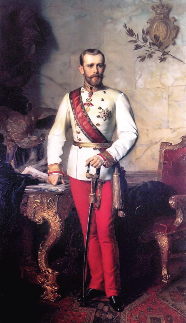 Kronprinz Rudolf litt unter Depressionen und war unglücklich in seiner Ehe. ©Gemeinfrei
