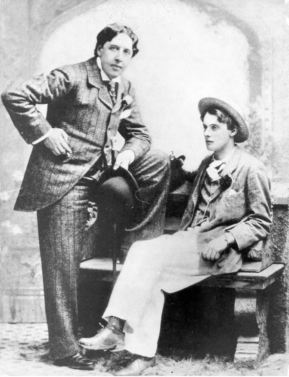 Zwei Jahre saß Oscar Wilde hinter Gittern, weil er Lord Alfred Douglas liebte  ©imago/United Archives International