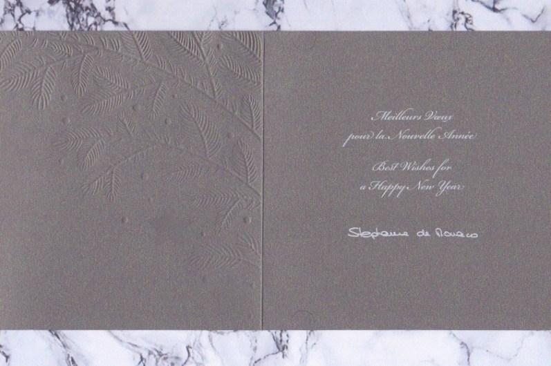 Prinzessin Stephanie antwortete auf meine Karte - dabei hatte ich ihr gar nicht geschrieben. ©ADELSWELT