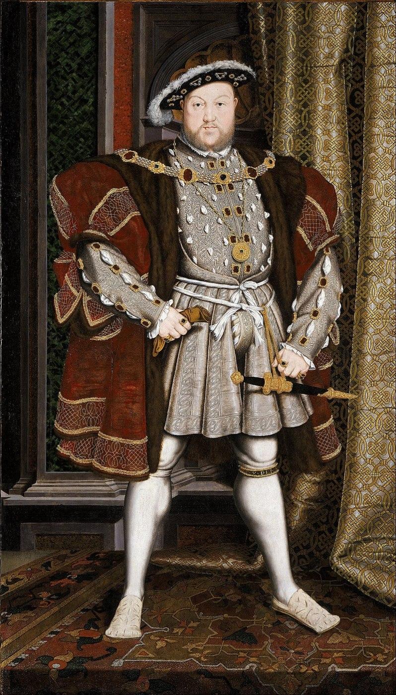 Heinrich VIII. hatte sechs Frauen, deren Schicksal in die Geschichte einging.  ©Public Domain
