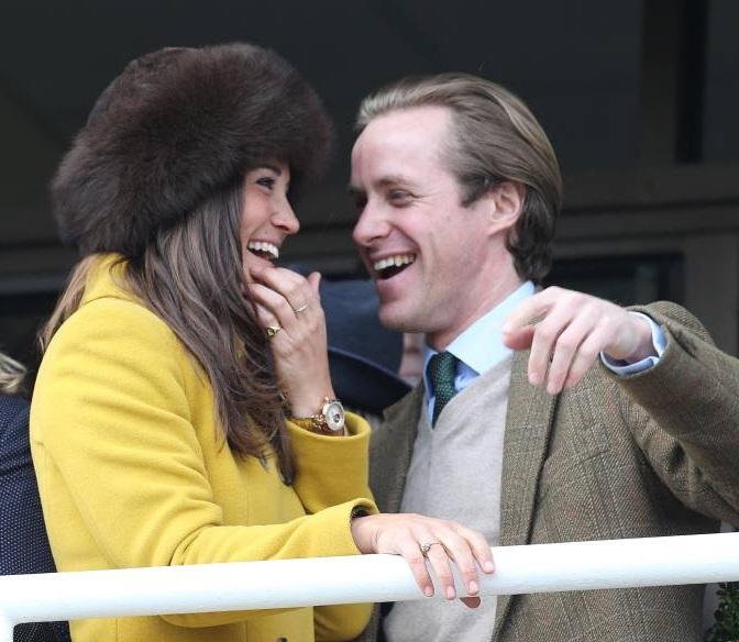 Thomas Kingston und Pippa Middleton gingen 2013 ein paar Mal aus und blieben auch nach ihrer kurzen Beziehung Freunde.  ©imago/i Images