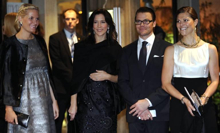 Auch die Kronprinzessinen Mette-Marit, Mary und Victoria sowie Prinz Daniel nutzen Instagram, um ihre Anhänger über Neuigkeiten zu informieren.  ©imago/Belga