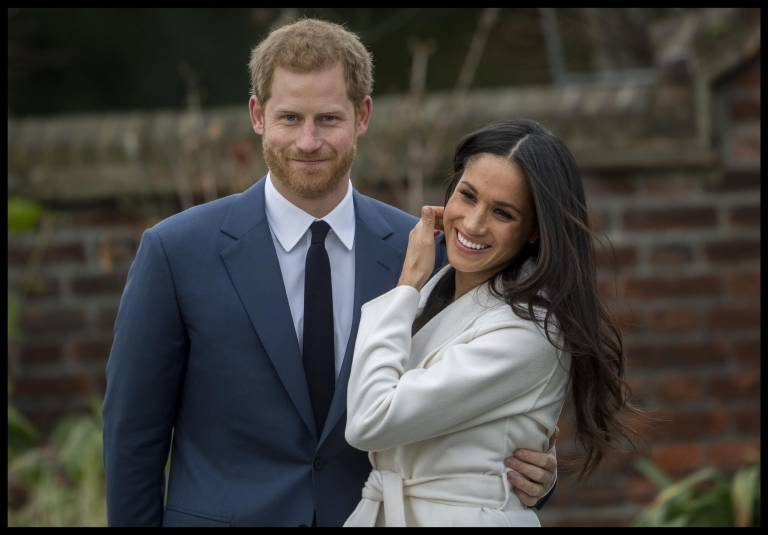 Der Geburtstermin für ihr erstes Baby soll im April sein. Dann werden Harry und Meghan auch wissen, wie ihr Baby wirklich aussieht.  ©Imago