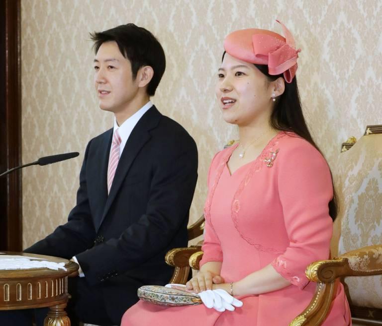 Ayako und ihr Kei Moriya werden Eltern. Ihr Baby soll noch dieses Jahr zur Welt kommen.  © imago images / Kyodo News