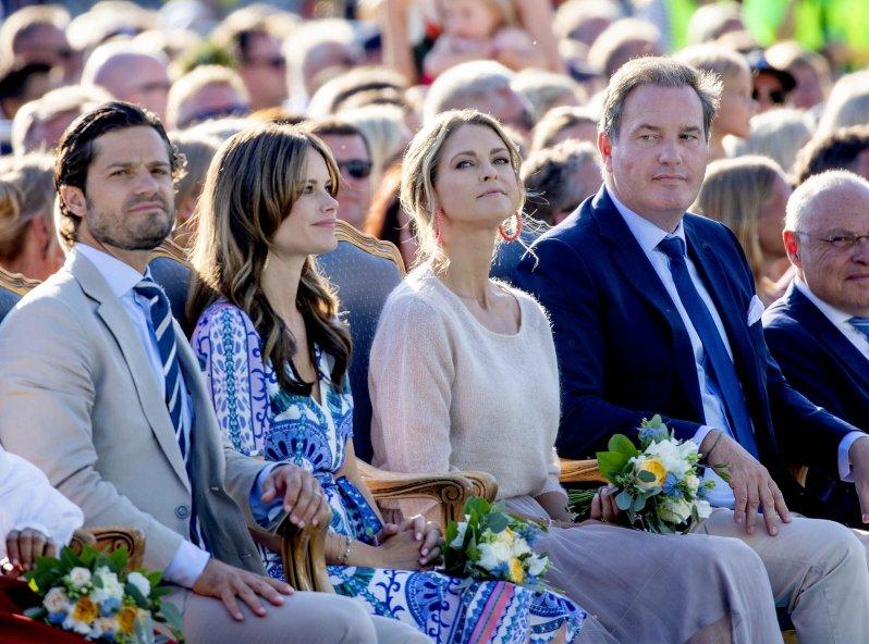 Die Kinder von Prinz Carl Philip und Prinzessin Sofia sowie von Prinzessin Madeleine und Christopher O'Neill sind künftige keine Repräsentanten des Königshauses mehr.  © picture alliance/RoyalPress Europe