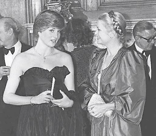 Prinzessin Diana vertraute ihre Sorgen Gracia Patricia an. Doch die Fürstin konnte sie nicht beruhigen.  © epa-Bildfunk