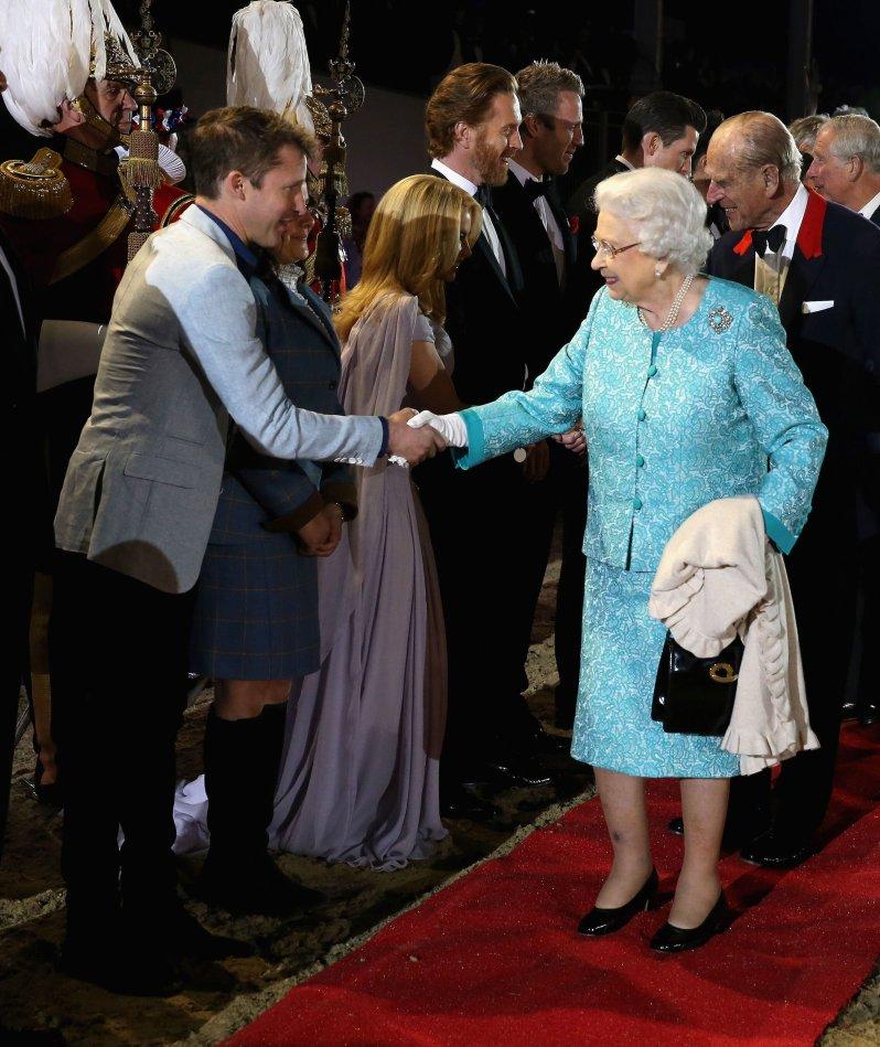 Vom Mitarbeiter zum Gast: James Blunt war beim 90-jährigen Geburtstag von Queen Elizabeth eingeladen.  © picture alliance / empics