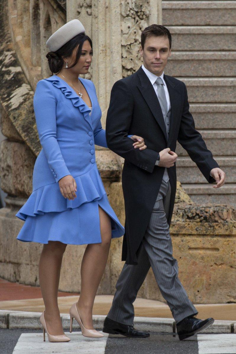 Ist Marie Ducruet schwanger? Dieses Kleid sorgt für Gesprächsstoff.  © picture alliance / abaca