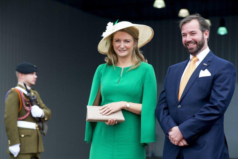 Erbgroßherzogin Stéphanie von Luxemburg ist schwanger.  © dpa