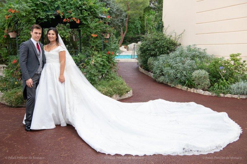 Nach der Hochzeit nahm Marie den Nachnamen ihres Mannes an. © Palais Princier de Monaco