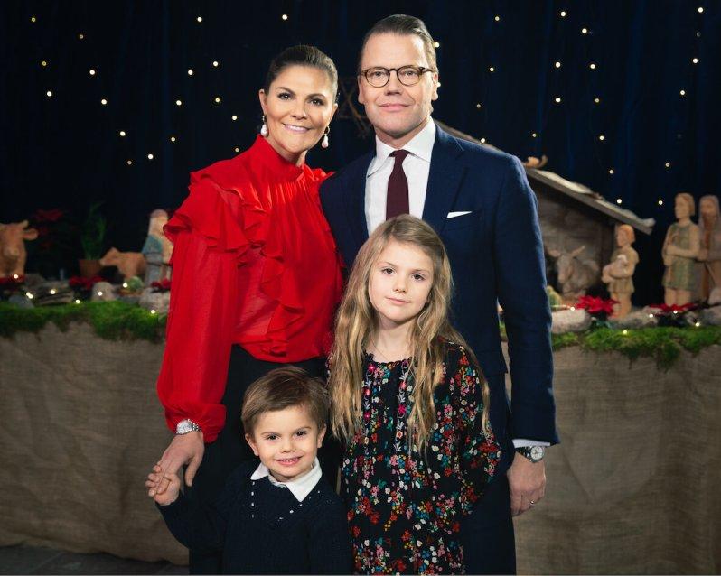 Geheime Pläne: Der Königshof verrät nicht, wie Kronprinzessin Victoria und ihre Familie Weihnachten feiern.  © Raphael Stecksén, Kungahuset
