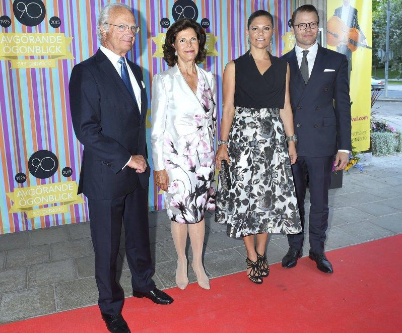 Die schwedischen Royals haben ein geschätztes Familienmitglied verloren. Dagmar von Arbin war die älteste Verwandte von König Carl Gustaf.  © picture alliance/IBL Schweden