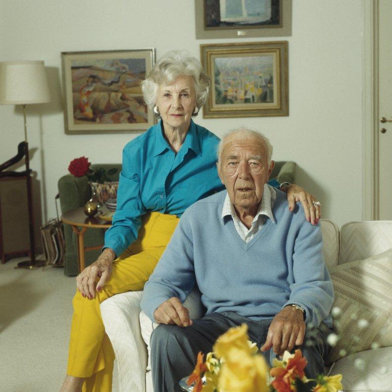 Aus Liebe zu ihrem Bertil opferte Lilian die Möglichkeit eigene Kinder zu bekommen. Erst als ihr Neffe Carl Gustaf unter der Haube war, durften sie heiraten. © picture alliance/IBL Schweden