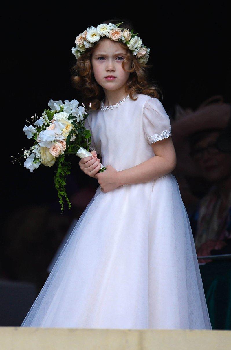 Sehen wir hier ein künftiges It-Girl? Als Tochter einer Schauspielerin und eines Adelsspross könnte Maud Windsor in zehn Jahren die Schlagzeilen beherrschen. © picture alliance / Photoshot